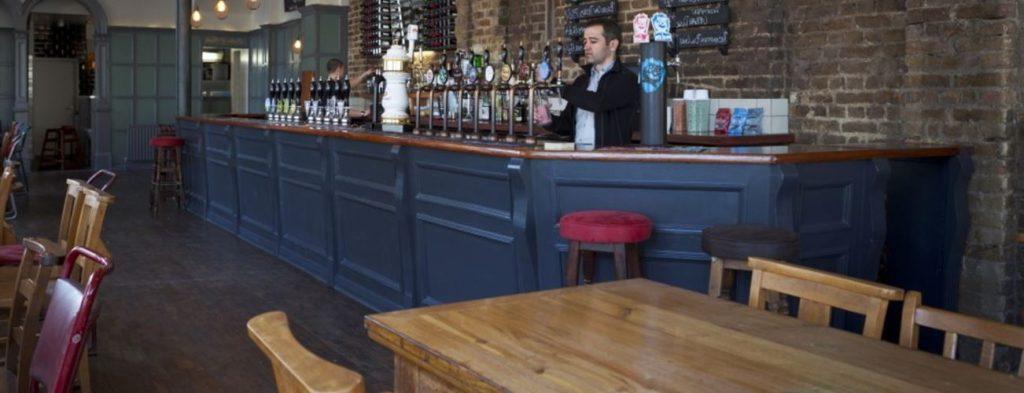 Empty pub post-covid19