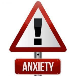 anxiety road sign