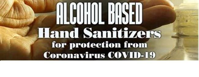 alcohol based hand sanitiser
