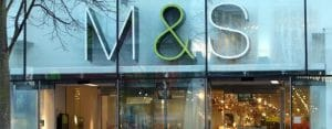 M and S shop logo