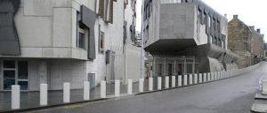 Scottish Parliament bollards