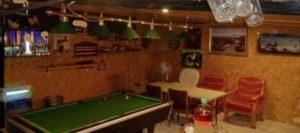 Inside of an illegal drinking den in Ireland